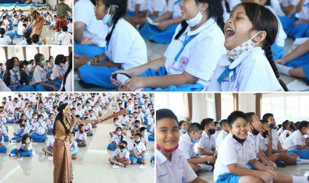 """การแสดง""""ฉ่อย""""เนื่องในวันภาษาไทยแห่งชาติ"""